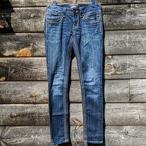 ReRock Thick Stitch Skinny Jeans